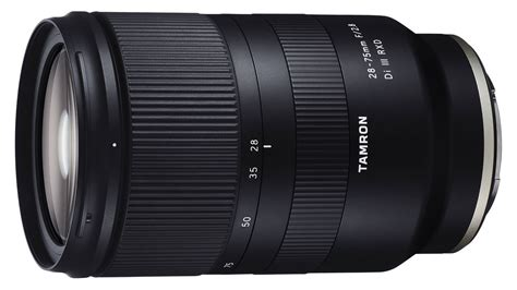 tamron 28 75mm f 2 8 di iii rxd review rating pcmag