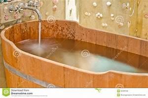 Wooden Bathtub Royalty Free Stock Image Image 32400136