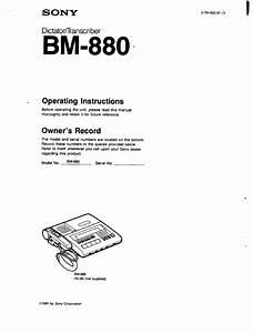 Sony Bm-880