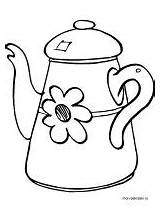 Kettle Coloring Pages Printable Recommended Plugin Mycoloring sketch template