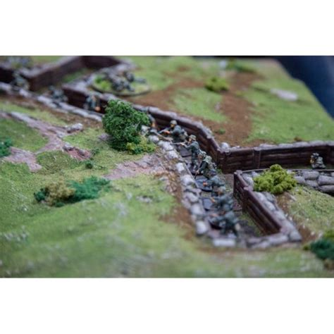 ww trenches printable scenery