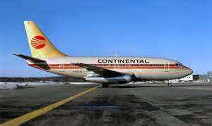 Continental Airlines Boeing 737-130