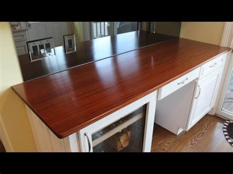 How To Build A Wooden Countertop  Installed By Jon Peters
