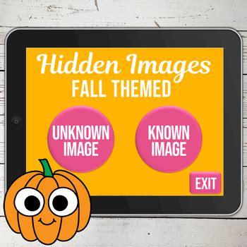 fall   trials  print hidden images game