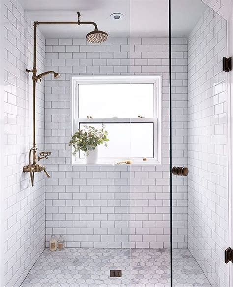 Bathrooms With Subway Tile Ideas by 25 Best Ideas About White Tile Shower On