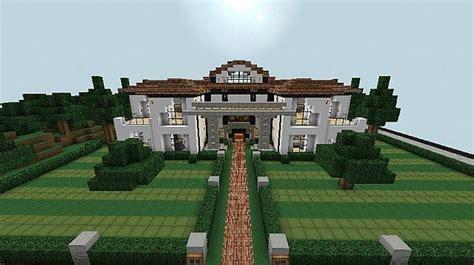 white mansion world schematic minecraft project