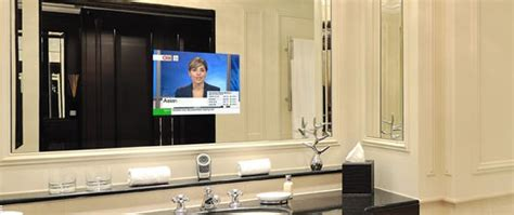Unique Tv Mirror Image From Ad-notam In Your Bathroom