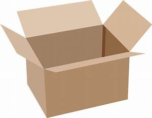 Free Vector Graphic  Box  Cardboard  Open - Free Image On Pixabay