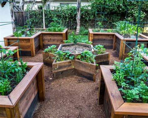 Exterior Beautiful Landscape Timber For Raised Beds Your