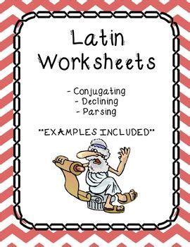 latin worksheets  images worksheets nouns