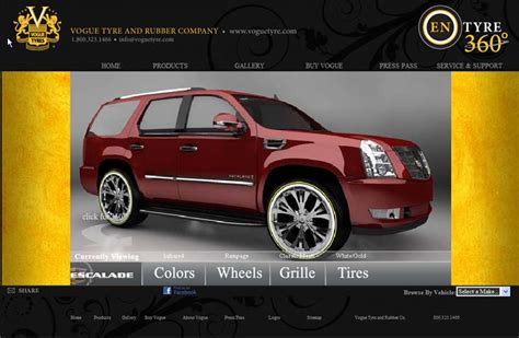 Vogue Tyres Adds New Cadillac Models To Vehicle