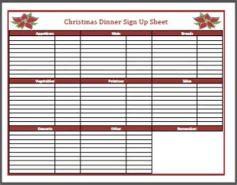 christmas sign up sheet dinner sign up sheet frogdiva dot