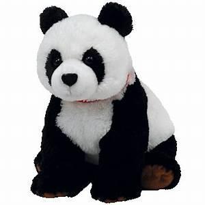 Grosse Peluche Panda : peluche panda ty 30 cm becket ~ Teatrodelosmanantiales.com Idées de Décoration
