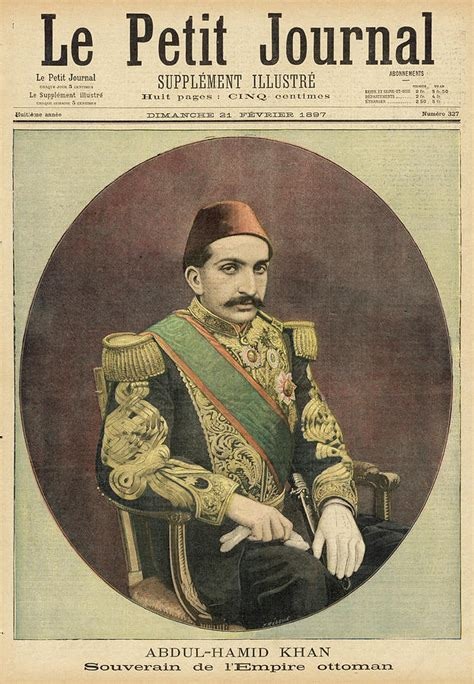Souverain Ottoman by Abdul Hamid Ii Ottoman Sultan Drawing By