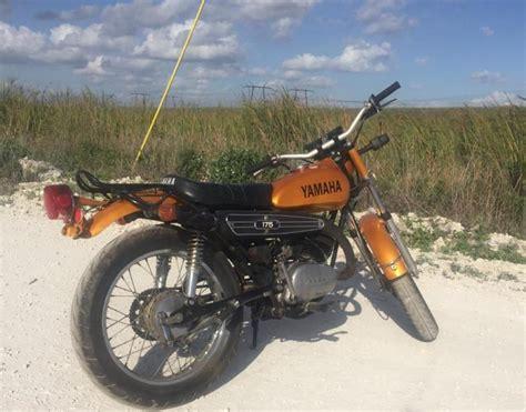1973 Yamaha Ct 175cc Enduro Dual Sport Scrambler Cafe