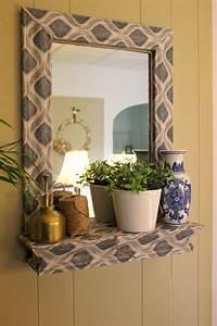 frames for mirrors 20 DIY Mirror Frames Ideas | The Creek Line House