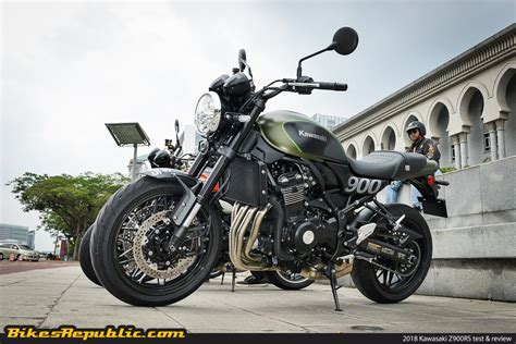 Kawasaki Z900rs Image by Tested 2018 Kawasaki Z900rs Test Review Bikesrepublic