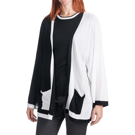 Cullen Boxy Colorblock Cardigan Sweater For Women 5748n
