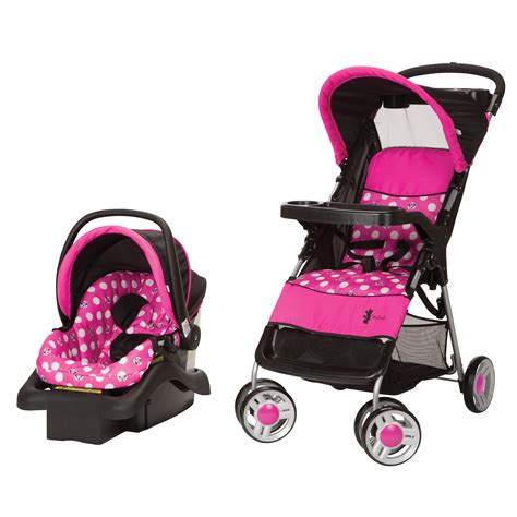 chaise haute minnie cosco lift stroll travel system minnie dot baby baby