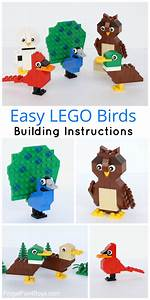 Easy Lego Birds Building Instructions