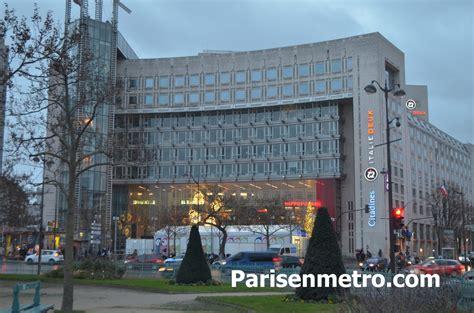 centre commercial porte d italie hotel citadines place d italie 224 en m 233 tro