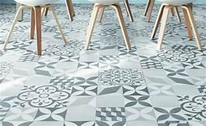 Dalle Vinyle Carreau De Ciment : moderniser vieux et long couloir ~ Premium-room.com Idées de Décoration