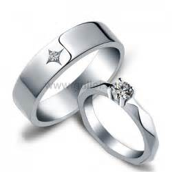 sterling silver engagement ring sets name inscribed wedding rings for and groom personalized couples gifts matching