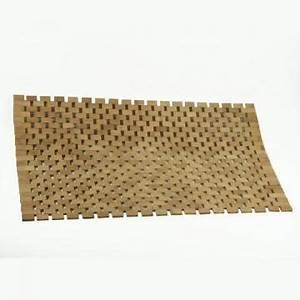tapis salle de bain en bambou 2290 With tapis de bain bambou