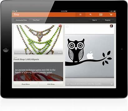 Official Ipad App Debuts Site