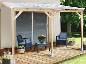 Toit Pergola Bois : pergola en bois avec ou sans toit en polycarbonate ~ Dode.kayakingforconservation.com Idées de Décoration