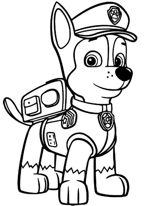 Pin by Starlene Roe on Coloring Paw patrol coloring