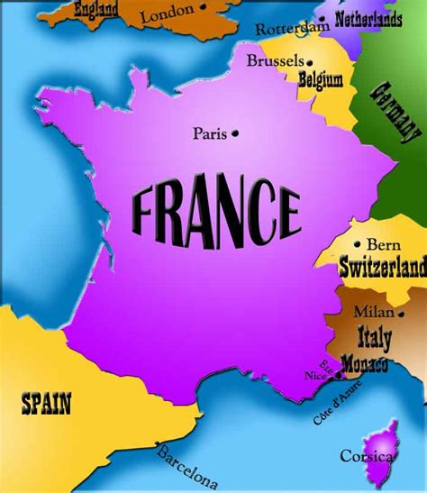 Europe Map France