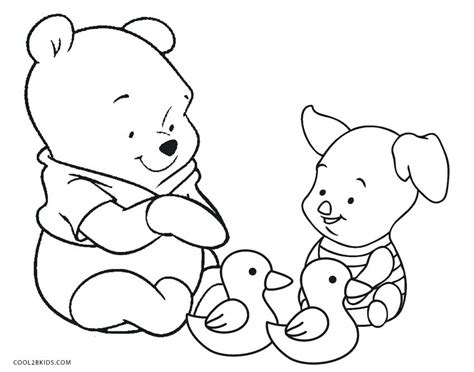 Classic Winnie The Pooh Coloring Pages Birthday