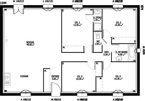 mod鑞e de cuisine ouverte beau plan de cuisine ouverte 7 mod232le et plans lolipop du constructeur maison lol evtod