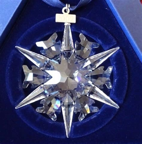 swarovski snowflake 2002 shop collectibles online daily