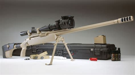 Mcmillan 50 Bmg by Mcmillan Trackingpoint 50 Bmg Precision Guided Rifle Pgr