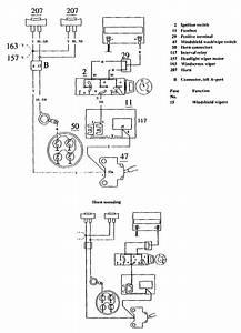 Volvo 740  1990 - 1991  - Wiring Diagrams - Horn