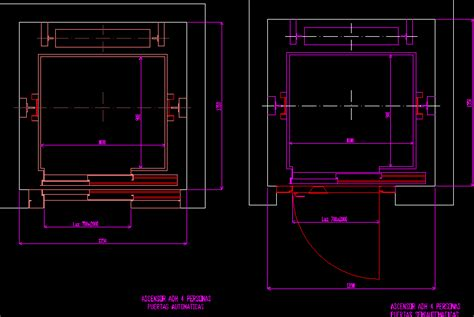 elevator dwg block  autocad designs cad