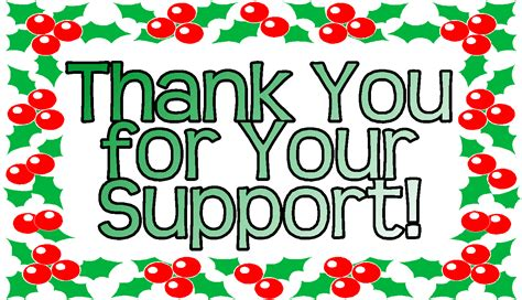 christmas thank you image share online
