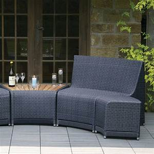 Buy Oasis Outdoor Curved Modular Seating — The Worm that ...