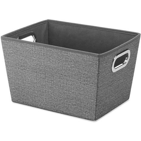Fabric Storage Bin In Shelf Bins