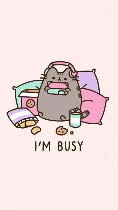 Kawaii Pusheen Gatos Wallpapers Cat