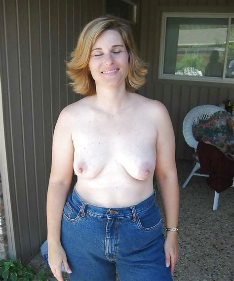 mature milfs topless wearing jeans 2 29 pics