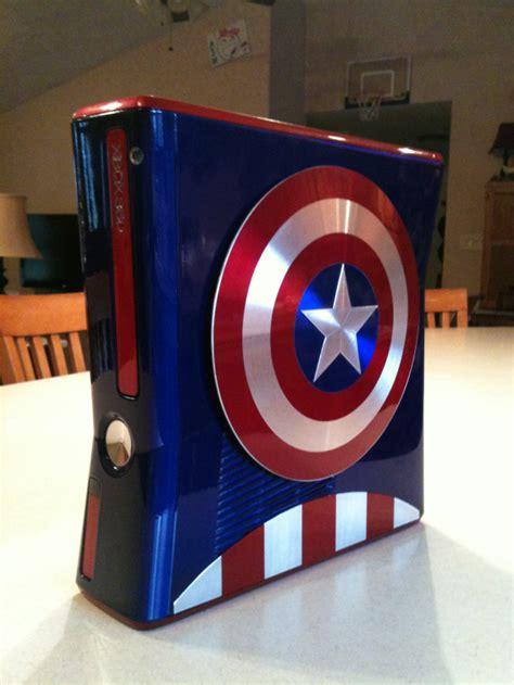 captain america custom xbox       living
