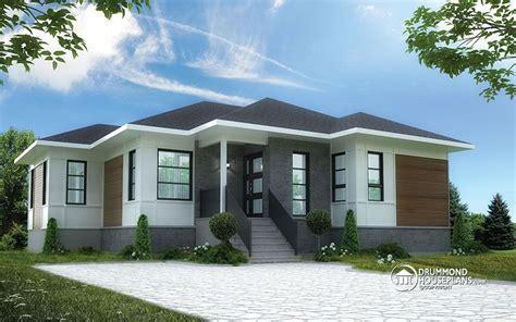 beautiful  bedroom bungalow  open floor plan  drummond house plans