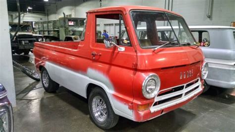 dodge  pickup truck  red wagon rare find