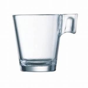 Tasse En Verre : tasses caf expresso en verre aroma 8cl avec anse ~ Teatrodelosmanantiales.com Idées de Décoration