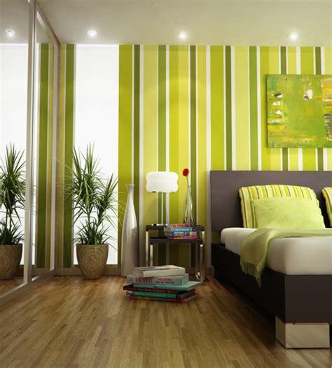 Wandgestaltung Wohnzimmer Grün by Streifen An Der Wand Streichen Tipps Und Ideen