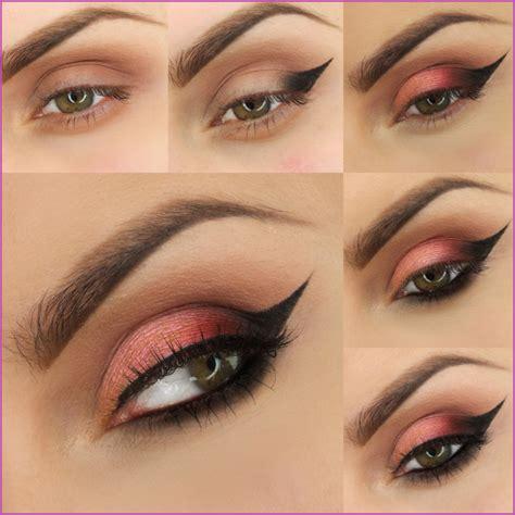 how to do hawaiian plumeria photo eye makeup tutorial