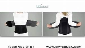 Lightest Back Brace Evotec Max Fitting Instructions